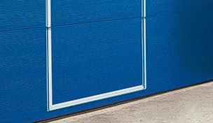 Опции - Панорамные ворота AluPro