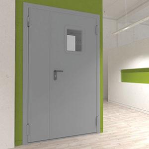 Технические двухстворчатые двери