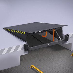 Платформы с поворотной аппарелью